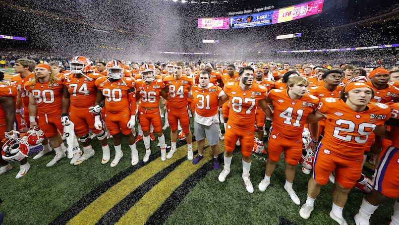 FBC-SPO-COLLEGE-FOOTBALL-PLAYOFF-NATIONAL-CHAMPIONSHIP---CLEMSON