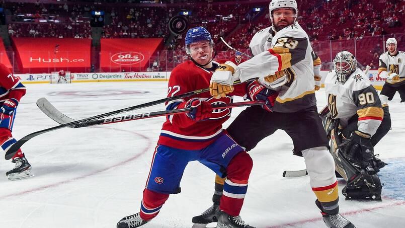 Canadiens: de retour à Vegas