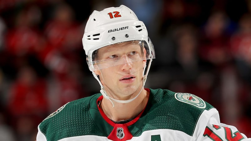 Eric Staal sous le choc