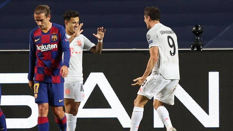 Le Bayern Munich explose Barcelone
