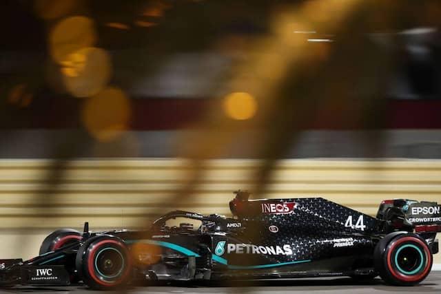 Lewis Hamilton, vainqueur du GP de Bahreïn