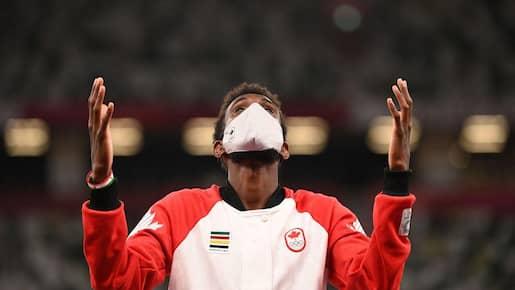 J.O.: Mohammed Ahmed remporte l'argent au 5000 m