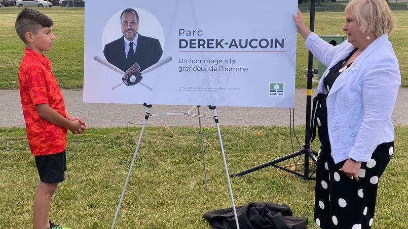 Le parc Derek-Aucoin officiellement inauguré