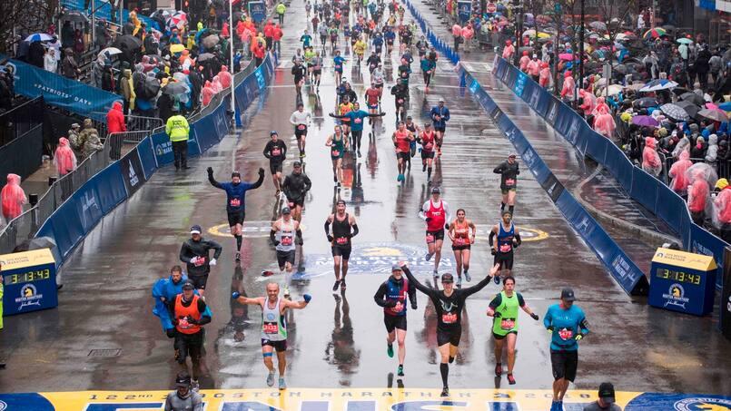 Le marathon de Boston reporté: une première