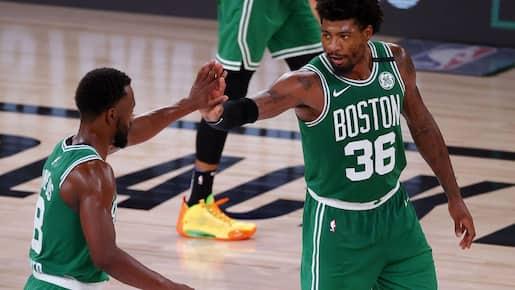 Les Celtics toujours dans la course
