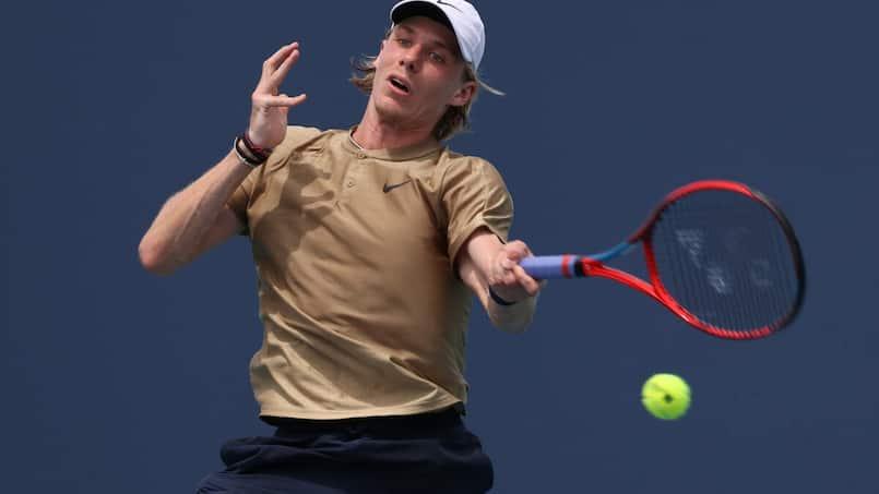 Deux victoires pour Denis Shapovalov au tournoi de Genève