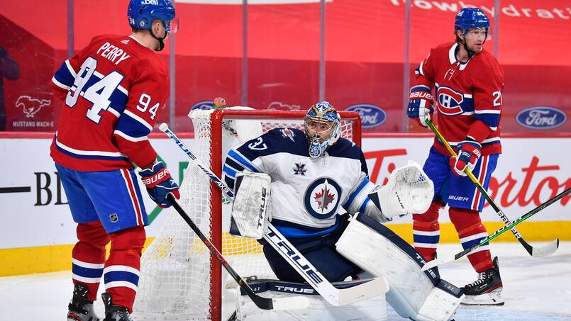 Canadien-Jets : un duel de gardiens