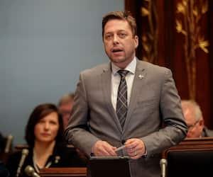 Martin Ouellet, porte-parole du Parti québécois en matière de finances