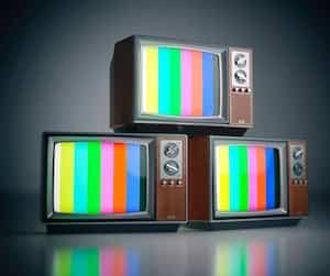 Bloc télévision tv télé
