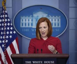 La porte-parole de la Maison-Blanche Jen Psaki.