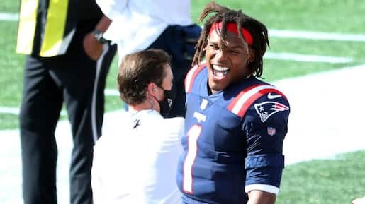 Newton réussit son entrée avec les Patriots