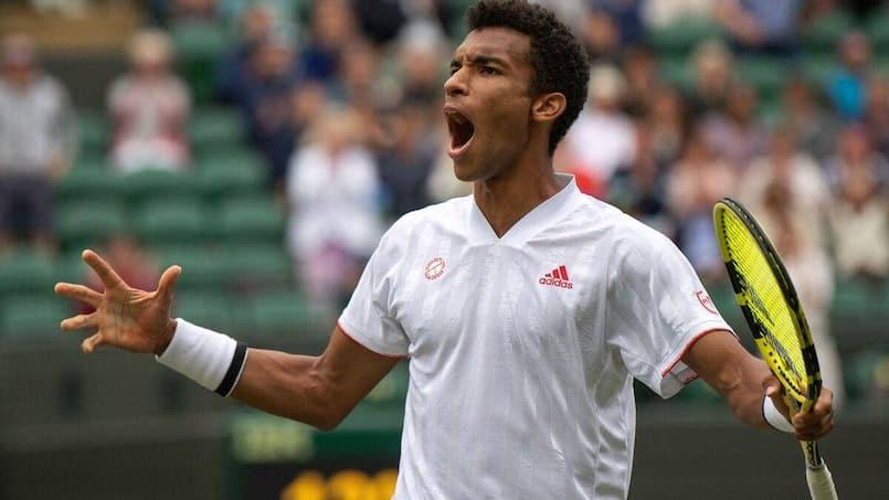 Wimbledon: Auger-Aliassime et Shapovalov en quarts