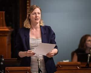 La députée de Québec solidaire Catherine Dorion