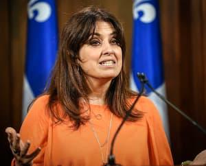 La députée du Parti québécois Véronique Hivon