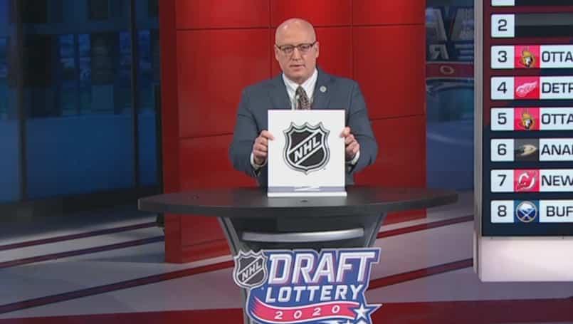 Des changements à la loterie de la LNH