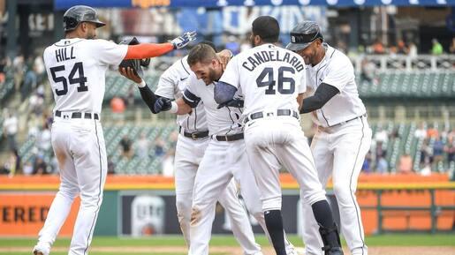 Les Tigers remportent un long duel contre les Rays