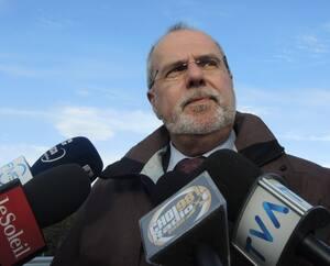 Le maire de Saint-Georges, Claude Morin