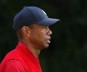 Le golfeur Tiger Woods