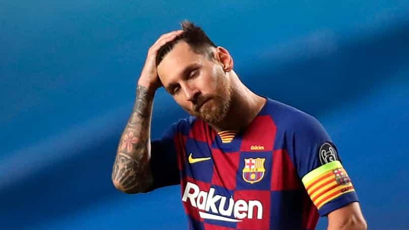Messi et la reprise la plus étrange de sa carrière