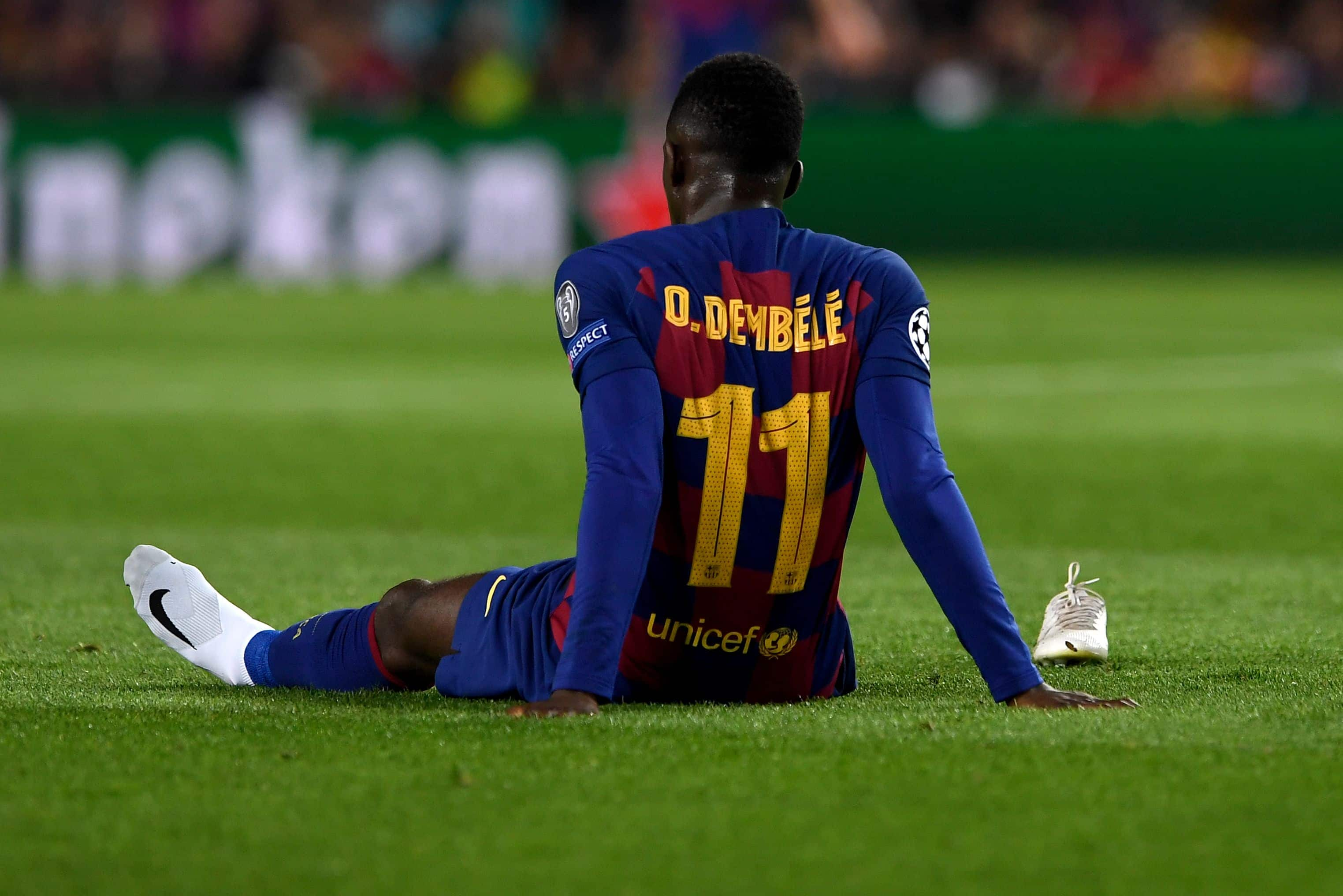Ousmane Dembélé forfait pour l'Euro 2020 — Equipe de France