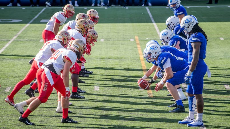 SPO-CARABINS-ROUGE ET OR-FOOTBALL