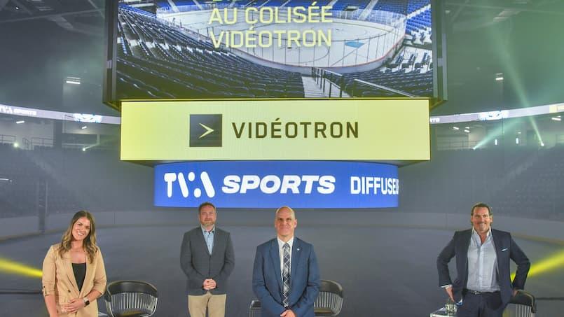 Le Colisée Vidéotron est inauguré