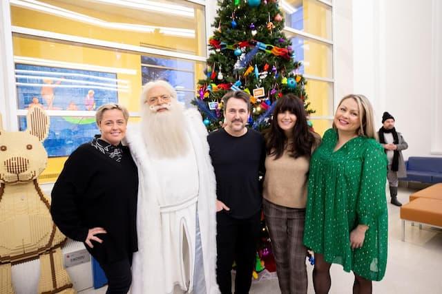 Ariane Moffat,Le père Noel, Guy A. Lepage, Marie-Ève Janvier et Mitsou