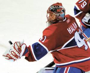 Jaroslav Halak a propulsé le Canadien en finale de l'Est, au printemps 2010.