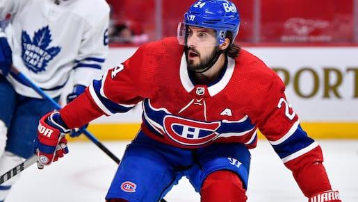 Blessé, Danault rentre à Montréal