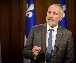 Le député solidaire Vincent Marissal