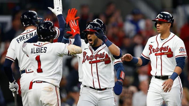Les Braves rejoignent les Astros