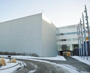 Le siège social du Cirque du Soleil à Montréal.
