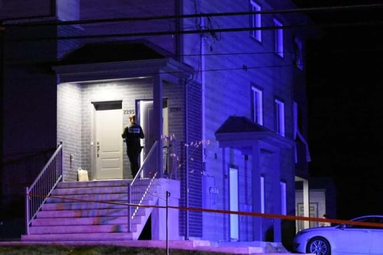 Sainte-Julienne: une intervention policière pour une femme blessée dans une résidence