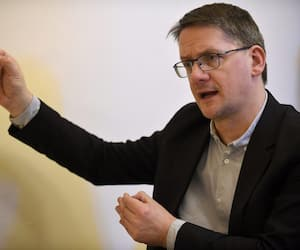 Sylvain Gaudreault est candidat à la chefferie du Parti québécois.