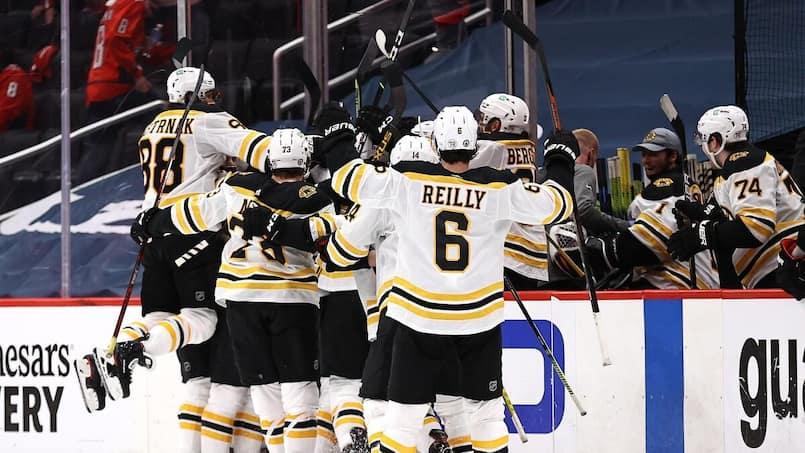 Les Bruins répliquent aux Capitals