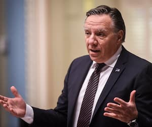 Le premier ministre du Québec François Legault