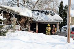 Corps retrouvé dans une résidence incendiée à Saint-Ours: il pourrait s'agir d'un homicide
