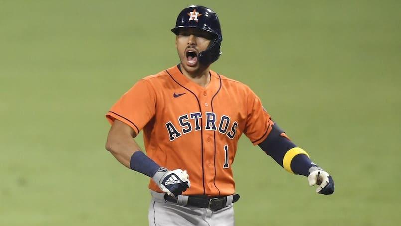 Une dernière saison avec les Astros pour Carlos Correa?