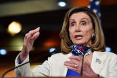 Nancy Pelosi la battante