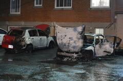 Montréal: deux véhicules incendiés dans Mercier–Hochelaga-Maisonneuve
