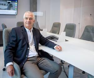 Yves Durand, concepteur du centre d'affaires 1188 Union, à Montréal.