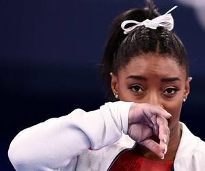 Image principale de l'article Une athlète se retire pour cause de santé mentale