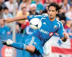 Alessandro Nesta fait partie de l'édition de l'Impact qui s'est jointe à la MLS, en 2012.
