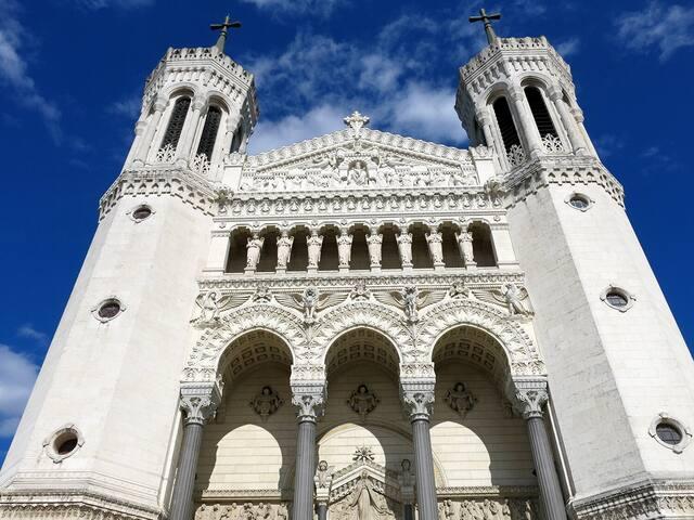 La basilique Notre-Dame de Fourvière.