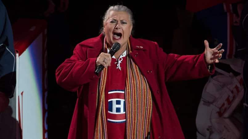 Hymne national du CH: Ginette Reno n'a jamais été appelée