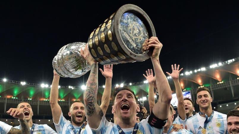 Un premier titre pour Messi avec l'Argentine
