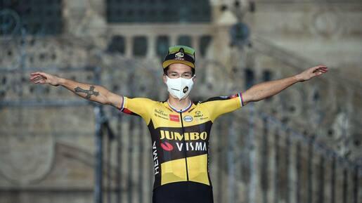 Tour d'Espagne : Primoz Roglic souligne son couronnement en grand