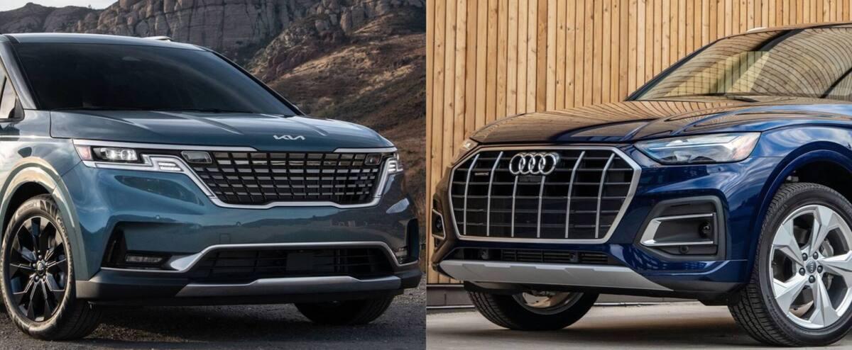 Kia Carnival et Audi Q5 à l'essai