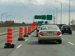 Montréal: moins d'entraves sur les routes durant le week-end