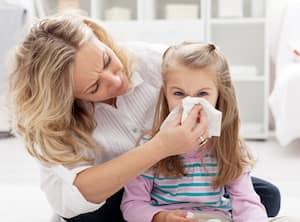 Bloc grippe rhume enfant allergie